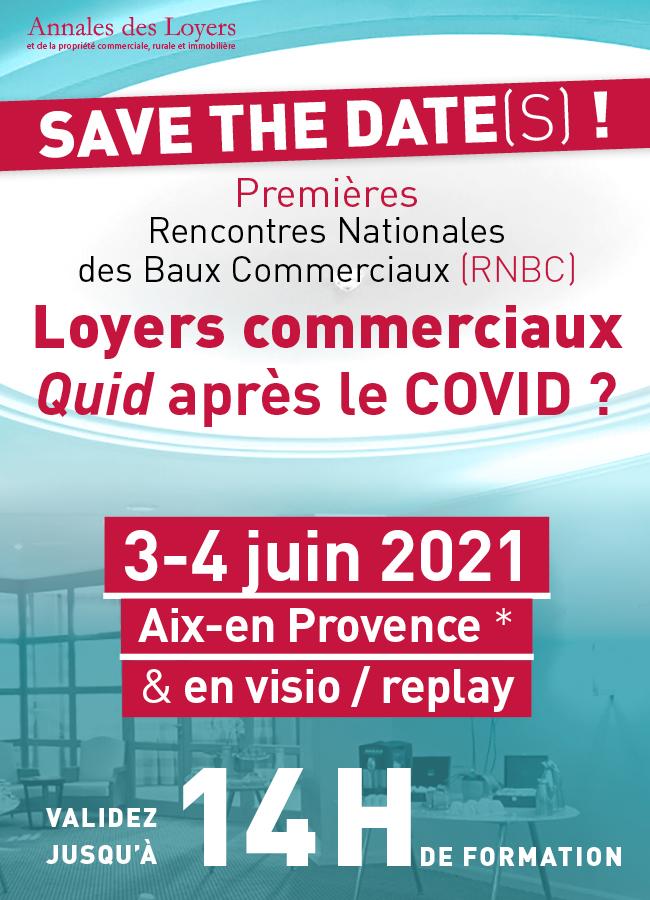 Rencontres Nationales des Baux Commerciaux